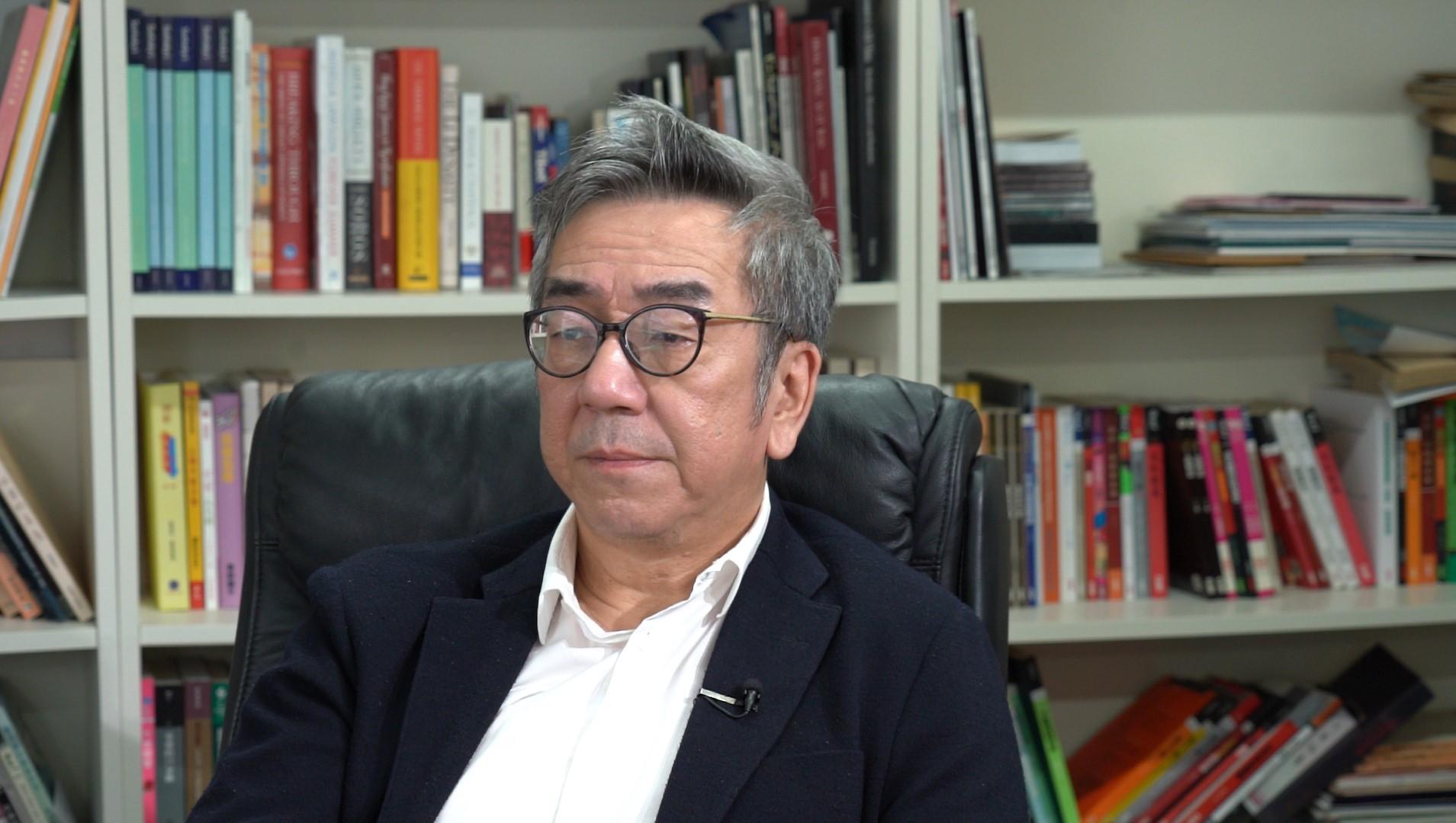 香港资深时事评论员陶杰指出,中央政府的「每一步棋」,就是取消「一国两制」。(邓颖韬 摄)