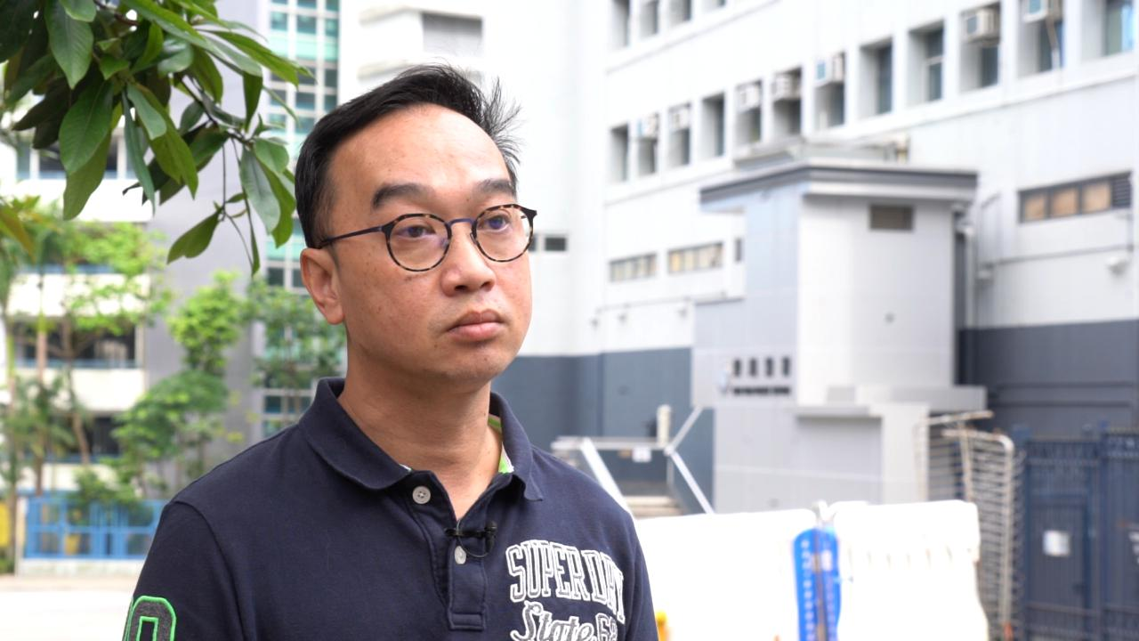 香港市民陈恭信是警暴受害人之一,但对警队的投诉不获成立投诉个案。(邓颖韬 摄)