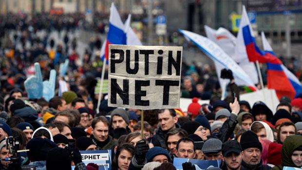 【翻墙问答】极权国家可以切断互联网吗?