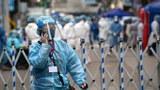 2021年1月23日,香港佐敦有衛生防護人員為區內人士進行新冠肺炎檢測。由於新冠疫情持續,港府採取包括封區強制檢疫等抗疫措施,並強制要求市民下載「安心出行」程式方可進出指定場所。