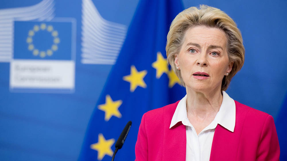 本月较早前,欧委会主席冯德莱恩在一次演讲中对欧盟成员国马耳他、塞浦路斯近年推出的「黄金签证」项目发出警告,她表示「欧盟价值观不能被出售」 。 (冯德莱恩推特图片)