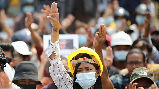 【缅甸政变】缅甸工会号召全国大罢工 华人民企恐遭重创