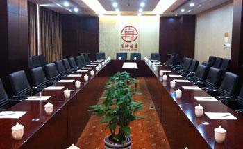 原定2012年1月9日在北京百环饭店会议厅举行的陈克贵案研讨会,饭店受当局施压临时拒绝出租。(照片由网友屠夫提供)