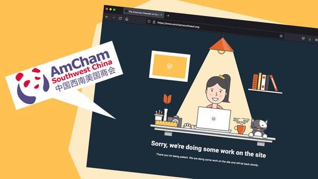 中國西南美國商會被要求停止運作 網站目前無法登入