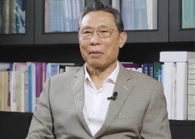 國家衞健委高級別專家組組長鍾南山批評武漢市政府瞞報疫情,並未說出真話。(資料圖片)
