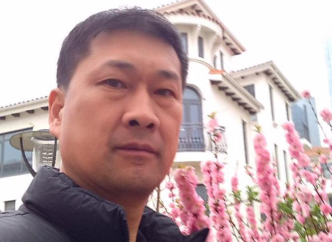 原烟台大学老师张忠顺被抓,下落不明。12年前,他曾因为在大学课堂播放关于六四的视频而被判刑。(张忠顺社交帐户图片 / 2015年4月19日)