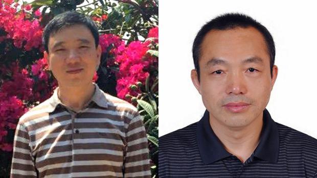 福建维权人士戴振亚(左)上周在厦门家中被来自山东的公安带走,而差不多同一时间,律师丁家喜(右)也在北京被山东公安带走。(戴振亚社交帐户、资料图片)