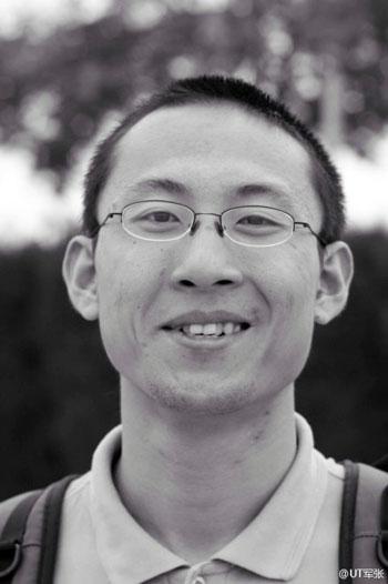 柳建樹曾任職犀照法律平台、立人圖書館等公益機構,亦於11月26日被警方拘留。(照片由維權人士提供)