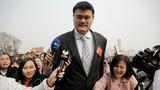中国篮协主席姚明至今没有发声。