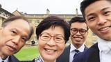 林郑家庭照。