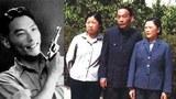 熊向晖(左)摄于1940年代,熊蕾,熊向晖和太太。