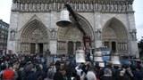 今年7月14日是法国大革命232周年。图为2013年法国人在巴黎圣母院前举行纪念活动的情形。