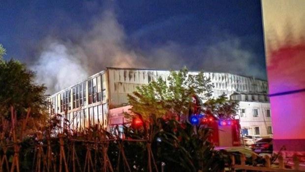 長春市物流倉庫大火至少40人死傷