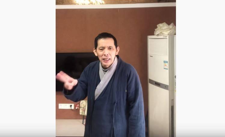 第一个用视频记录武汉某医院到处是尸体的方斌,控罪几经变更,最新罪名涉「寻衅滋事罪」。(网路图片)
