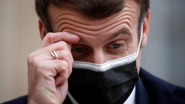法国总统马克龙确诊 曾与西班牙总理共晋午餐