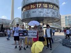 默克爾將訪華 在德港人擬發公開信促向中國施壓