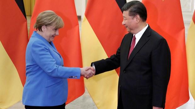 習近平和默克爾通話:望歐盟「戰略自主」