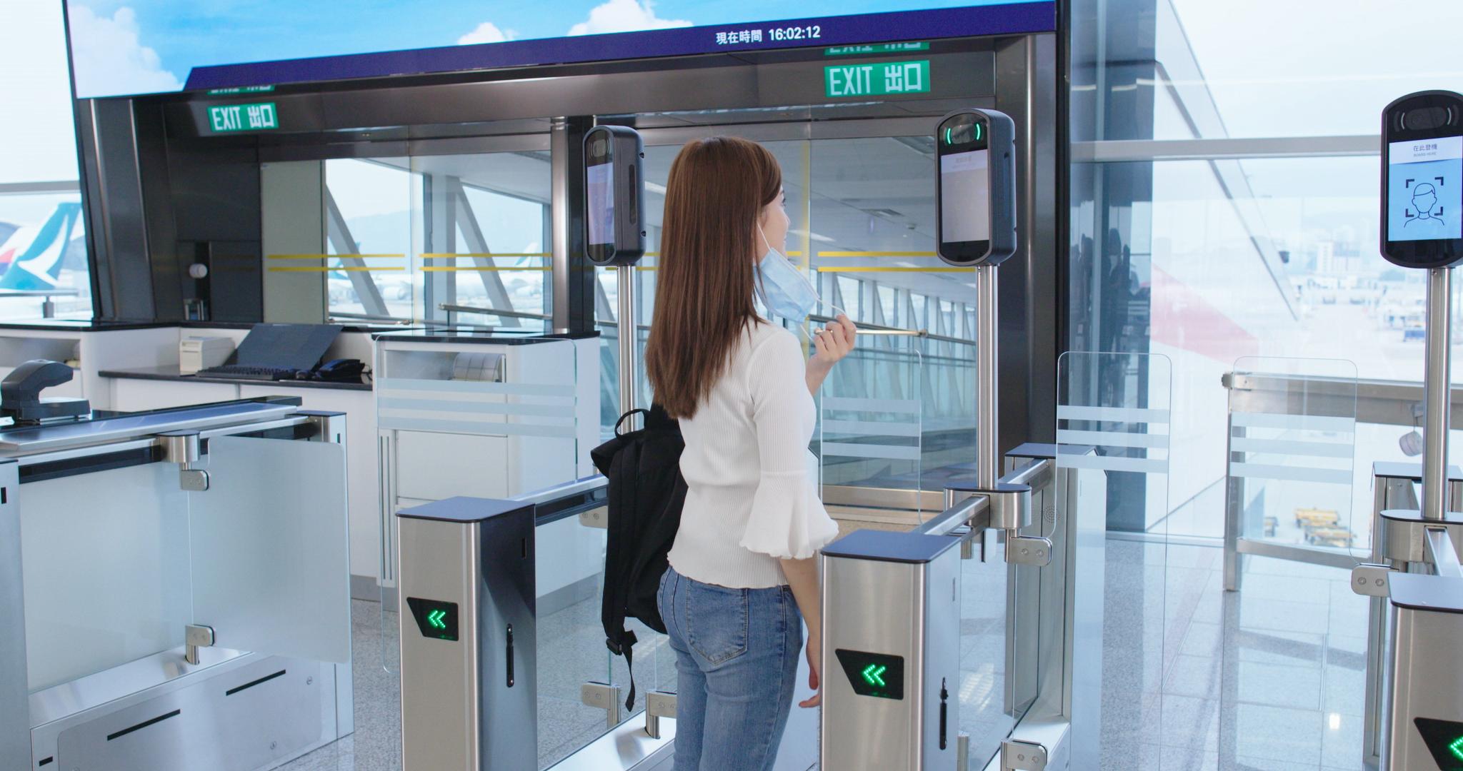 局方終以商業敏感資料為由,未有提供閘口相關成本。(機管局圖片)