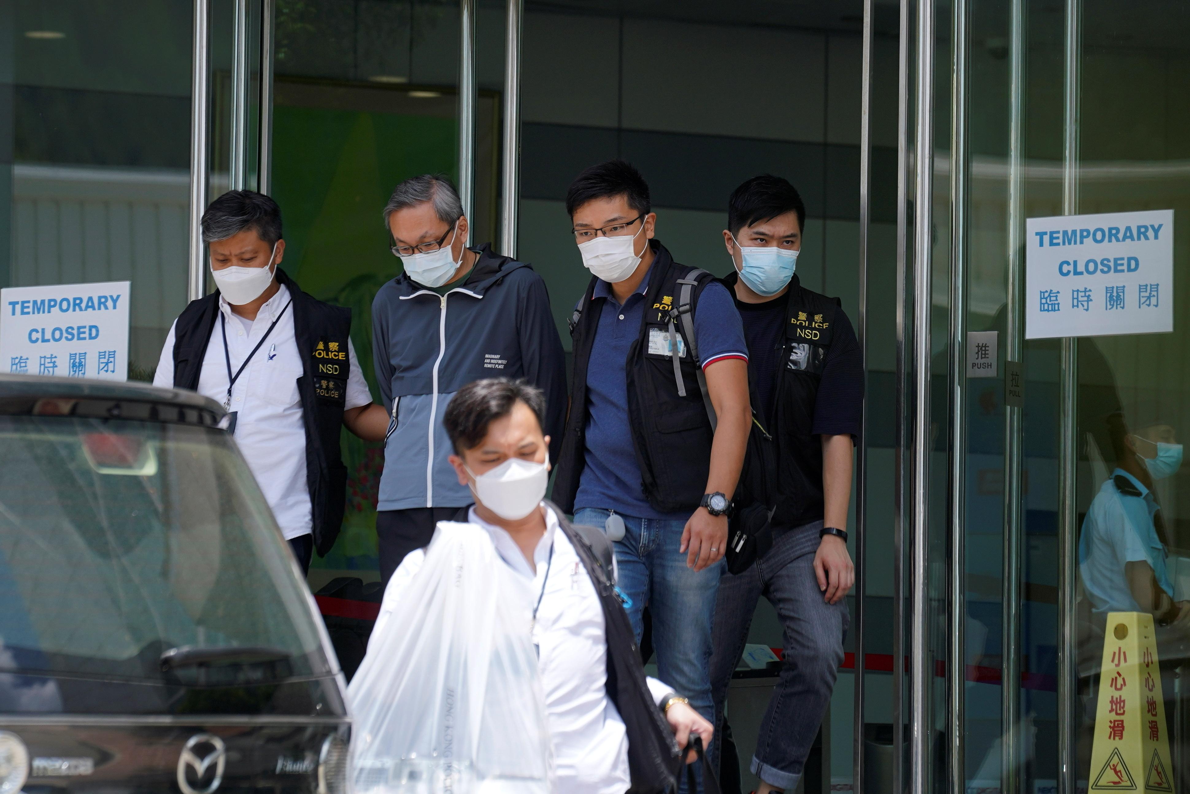 壹传媒行政总裁张剑虹目前仍在还押候讯。(路透社资料图片)