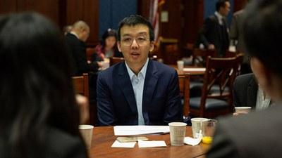 朱牧民促請美國新一屆國會重新制定保護港人法案。