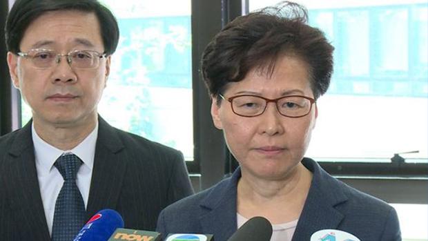 外交部驻港公署发声明否认林郑曾向北京辞职