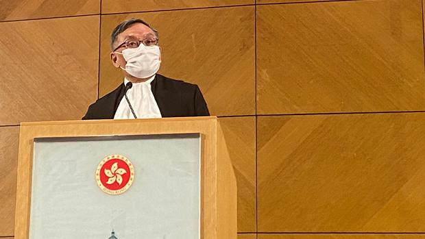 港首席法官张举能:三权分立「太政治化」 法庭解释国安法「不成问题」