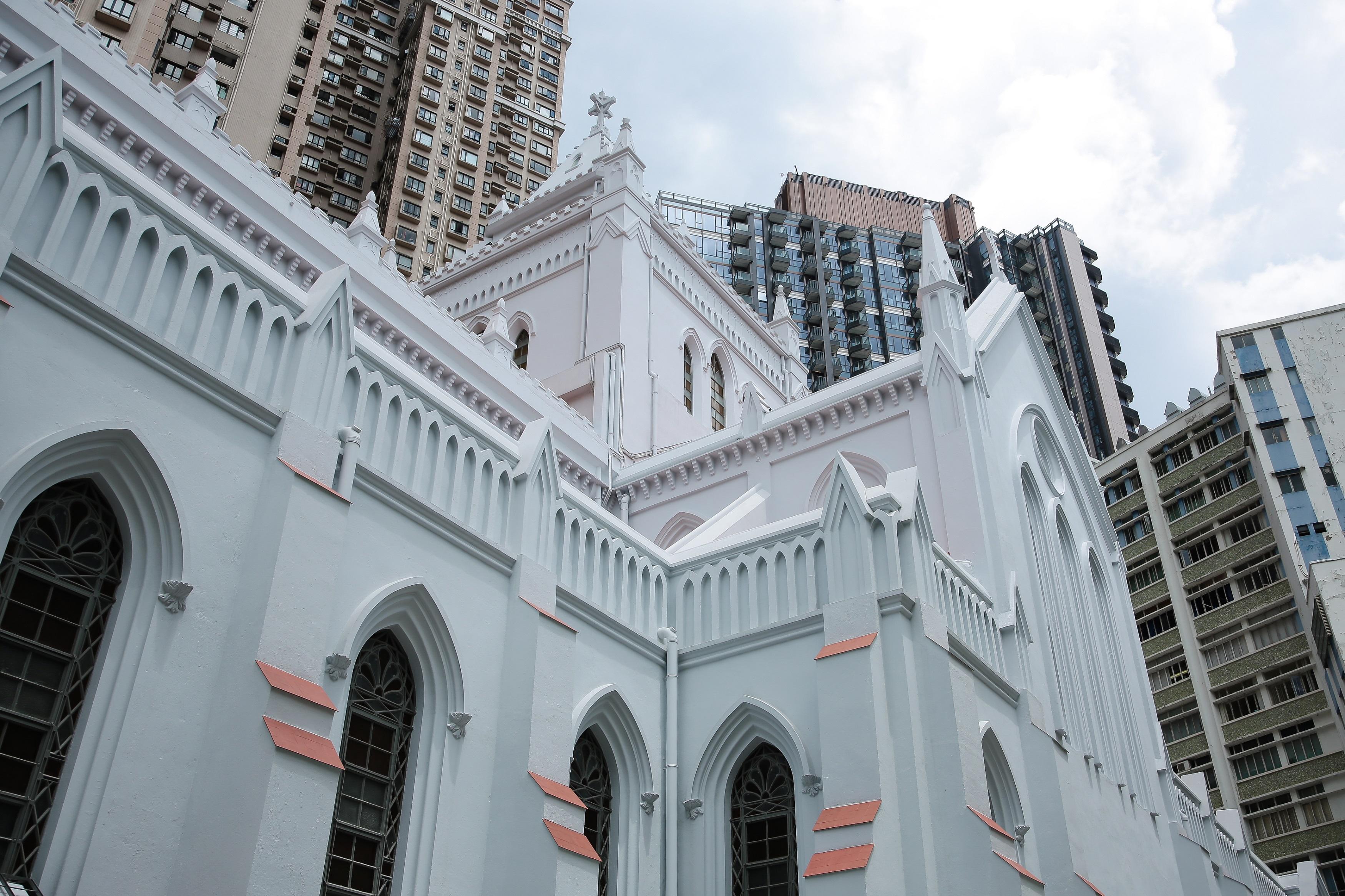 目前香港天主教徒達逾40萬人。(張展豪 攝)