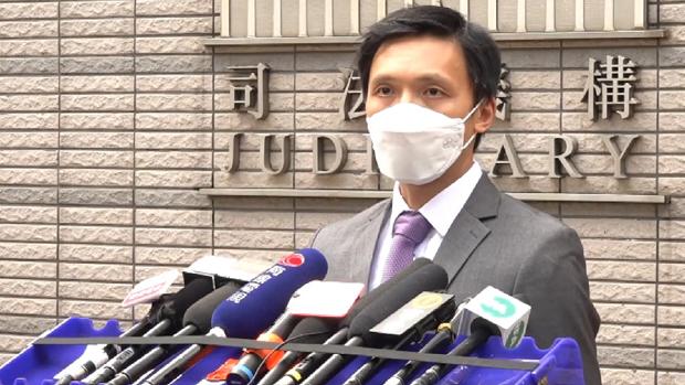 東九龍總區重案組總督察莫子威表示,因應周梓樂死因聆訊,警方找出大約76名人員牽涉在內。(張展豪 攝)