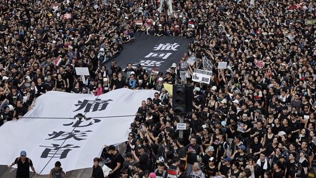 大型警民衝突後 民陣申人權日遊行惹關注