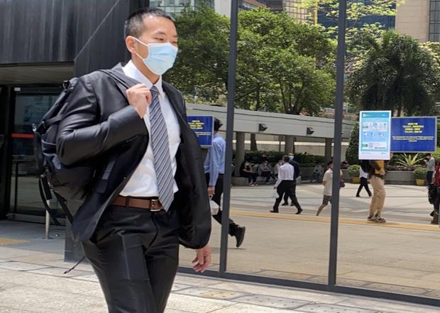 周三(21日)控方法庭傳召第一證人鍾家平高級督察。(劉少風 攝)