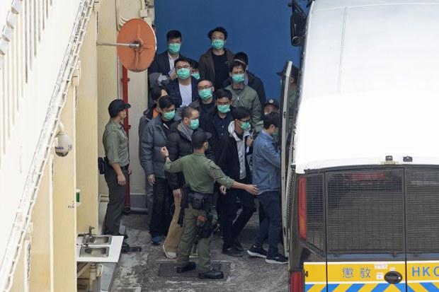 【港版美丽岛】政治参与等同犯罪 料周三傍晚有保释结果