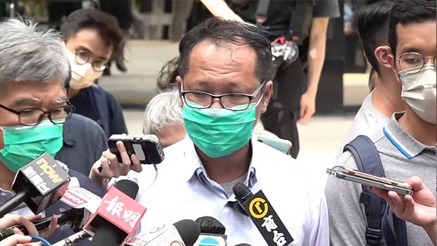 田飛龍稱支聯會要刪「顛覆綱領」 蔡耀昌:應提供更多法律依據
