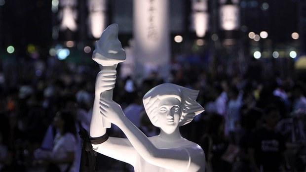 【支聯會】堅持「抗戰」32年終走入歷史 61國際組織籲制裁涉事港官