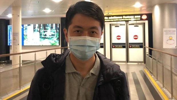 许智峯赴丹麦会前首相 强调不寻求庇护