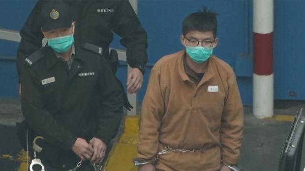 【港版美麗島】傳黃之鋒快必收押所被捕 被捕人士陸續獲保釋