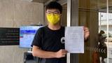 正在狱中服刑的黄之锋在Facebook专页发文称,在狱中与恐惧及孤寂搏斗。