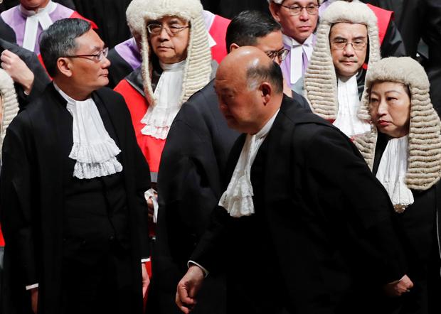 《路透社》报道引述接近香港终审法院首席法官马道立的人士指,有北京官员及法官持续向他强调,法治最终是维护一党专政的工具。(路透社资料图片)