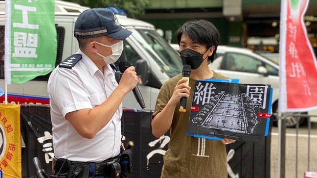 【六四32周年】支聯會遊行燭光晚會遭保安局反對 蔡耀昌「用盡辦法」籲港人各自悼念
