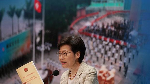 【戰狼特首】林鄭稱「外部勢力」雙重標準虛偽無恥    別國指北京違「聯合聲明」無舉證屬「謊言」