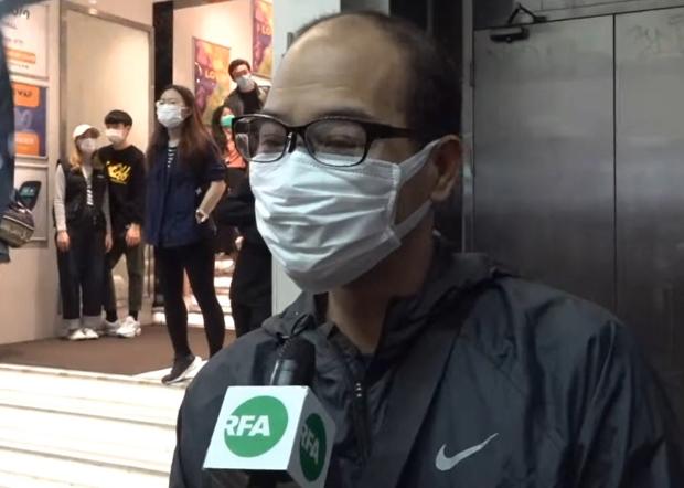 葉先生說︰香港已經不是一個法治的地方。(鄧穎韜 攝)