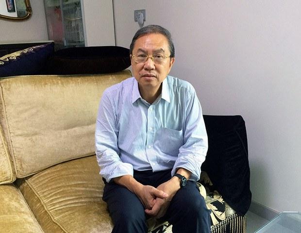 郑宇硕批评港府上纲上线。(本台资料图片)
