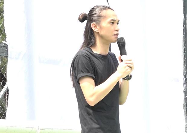 刘家栋经审讯后被裁定一项阻差办公罪罪成,在粉岭裁判法院被判即时监禁一年。(香港电台图片)