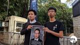 学生组织要求美方关注香港 立法制裁违反人权官员