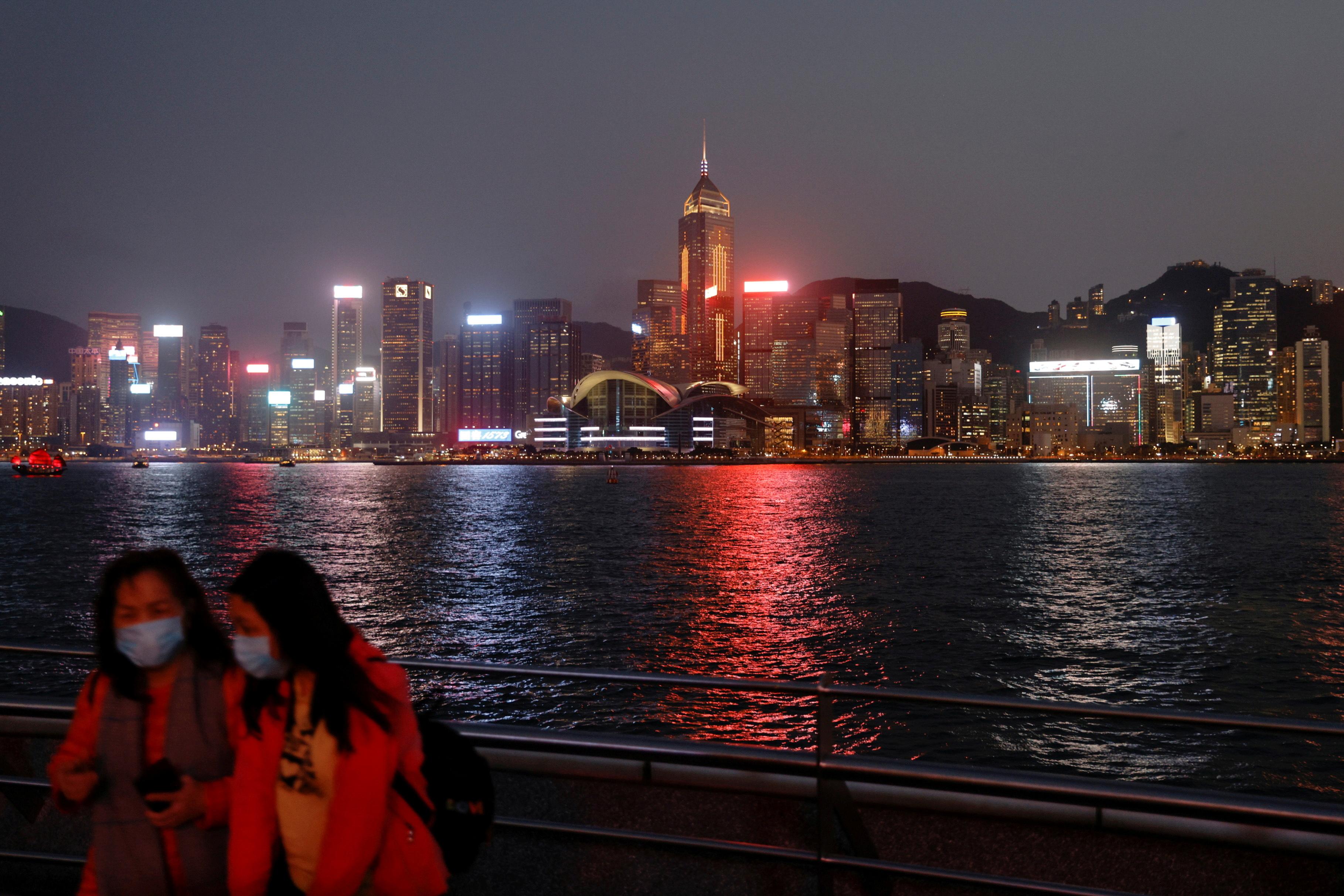 虽然台商的情况仍有待进一步观察,近日外资撤离的风声在香港引来关注。(路透社资料图片)