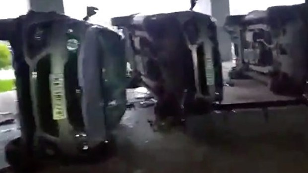 台商印度iPhone廠暴動 資方稱外部歹徒肇事