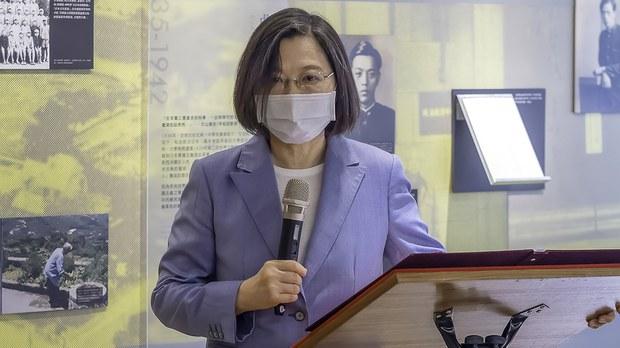 蔡英文譴責陸方再單方面破壞貿易秩序
