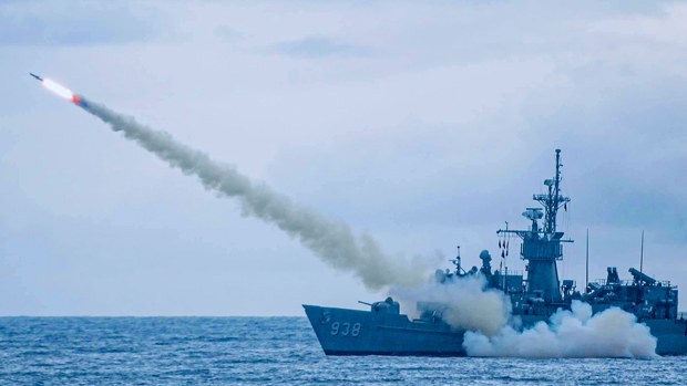 因應中國軍事威脅增加 台灣來年國防預算創新高