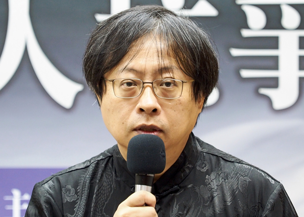 2020年6月3日,华人民主书院董事主席曾建元:三十一年前「六四」未能让中国民主化,导致今天香港发生问题。(锺广政 摄)