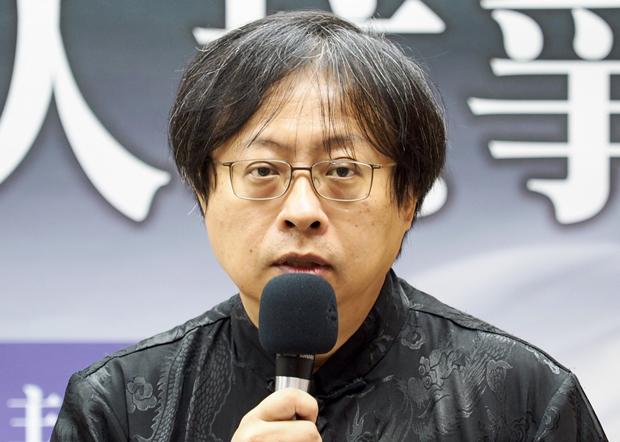 2020年6月3日,華人民主書院董事主席曾建元:三十一年前「六四」未能讓中國民主化,導致今天香港發生問題。(鍾廣政 攝)