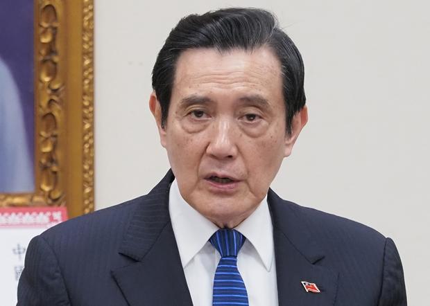 前台灣總統馬英九:台灣行政院長蘇貞昌多一點同理心,不要讓無辜的台灣人因政治考量而滯留武漢。(鍾廣政 攝 / 2020年3月9日)